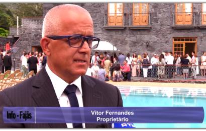 """INAUGURAÇÃO DO HOTEL """"QUINTA DA MAGNÓLIA""""- (Entrevista ao proprietário) -Urzelina – Ilha de São Jorge (c/ vídeo)"""