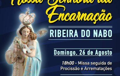 FESTA DE Nª SRª DA ENCARNAÇÃO – Ribeira do Nabo / Urzelina (26 e 27 – Programa) – Ilha de São Jorge
