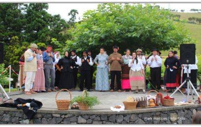 GRUPO ETNOGRÁFICO DA BEIRA ATUA NA FESTA DO TERREIRO DA MACELA – Beira / Velas – Ilha de São Jorge (c/ vídeo)