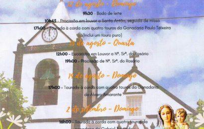 FESTA DE Nª SRª ROSÁRIO – NORTE PEQUENO – Ilha de São Jorge (Programa)