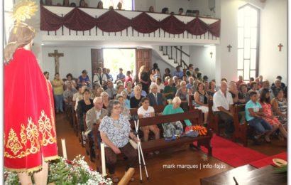 """""""MISSA""""– FESTA DO SENHOR BOM JESUS – Cruzal / Santo Antão – Ilha de São Jorge (c/ vídeo)"""