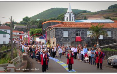 PROCISSÃO DE Nª SRª DO ROSÁRIO – FESTAS DE ROSAIS /2018 – Ilha de São Jorge (c/ vídeo)