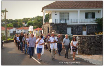 """""""PROCISSÃO"""" – INAUGURAÇÃO DA ERMIDA DE SANTO ANTÓNIO (Terreiros / Manadas) – Ilha de São Jorge (c/ vídeo)"""