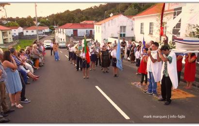 RECREIO TERREIRENSE SAÚDA ERMIDA – INAUGURAÇÃO DA ERMIDA DE SANTO ANTÓNIO (Terreiros / Manadas) – Ilha de São Jorge (c/ vídeo)