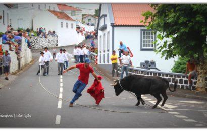 TOURADAS À CORDA – FESTA DE Nª SRª DAS NEVES – Norte Grande – Ilha de São Jorge (c/ reportagem fotográfica)