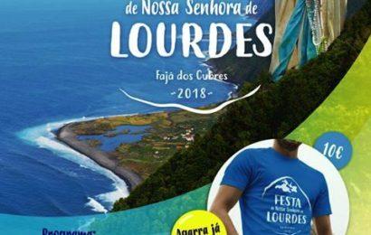 """FAJÃ DOS CUBRES – """"FESTA DE Nª SRª DE LOURDES"""" – Próximos dias 8 e 9 (Programa) – Ilha de São Jorge"""
