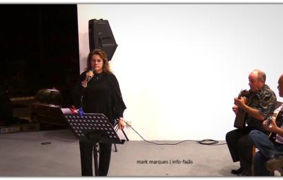 """NOITE DE FADO COM """"MARGARIDA SEQUEIRA"""" NA FESTA DE Nª SRª DAS DORES – FAJÃ DO OUVIDOR – Norte Grande – Ilha de São Jorge (c/ vídeo)"""