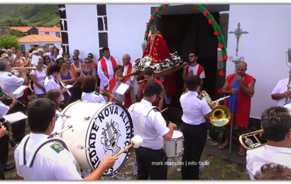 NOVA ALIANÇA SAÚDA IMAGEM DO SENHOR SANTO CRISTO – FAJÃ DA CALDEIRA DE SANTO CRISTO – Ilha de São Jorge (c/ vídeo)