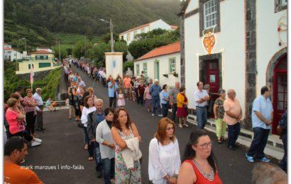 """FESTA DE Nª SRª DAS DORES """"PROCISSÃO"""" – FAJÃ DO OUVIDOR – Norte Grande – Ilha de São Jorge (c/ vídeo)"""