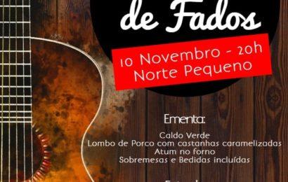 JANTAR E NOITE DE FADOS – SOCIEDADE DO NORTE PEQUENO – Ilha de São Jorge (Próximo dia 10 de Novembro)