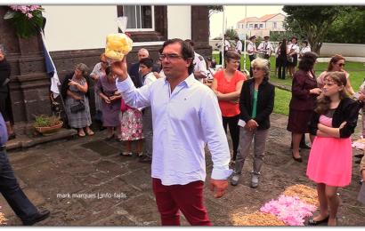 """""""ARREMATAÇÕES"""" – FESTA DE Nª SRª DO ROSÁRIO – Vila do Topo – Ilha de São Jorge (c/ vídeo)"""