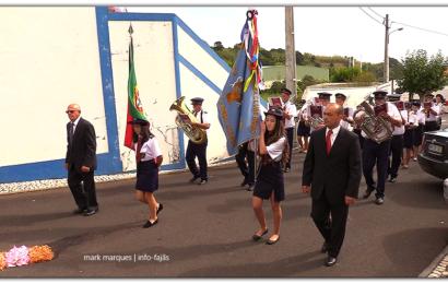 """""""CLUBE UNIÃO"""" DESFILA NA FESTA DE Nª SRª DO ROSÁRIO – Vila do Topo – Ilha de São Jorge (c/ vídeo)"""