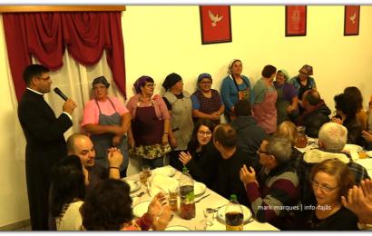 JANTAR DE ANGARIAÇÃO DE FUNDOS PARA OBRAS NA ERMIDA DA FAJÃ DE SÃO JOÃO – Ilha de São Jorge (c/ vídeo)