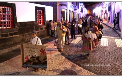 GRUPO ETNOGRÁFICO DA BEIRA DESFILA NO DIA DAS MONTRAS – Vila das Velas – Ilha de São Jorge (c/ vídeo)