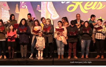 Grupo de Reis do Grupo Coral e Juvenil de Manadas – Auditório Municipal de Velas  (c/ vídeo)