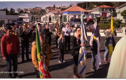 """""""UNIÃO ROSALENSE"""" saúda imagem de SANTO ANTÃO – Freguesia de Rosais – Ilha de São Jorge (c/ vídeo)"""