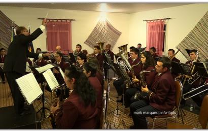 """Banda Filarmónica """"CLUBE UNIÃO"""" da Vila do Topo, em concerto – (Intercâmbio cultural) – Ilha de São Jorge (c/ vídeo)"""