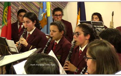 """Banda Filarmónica CLUBE UNIÃO, interpreta """"ODÍLIA – POP OVERTURE"""" – (Intercâmbio cultural) – Ilha de São Jorge (c/ vídeo)"""
