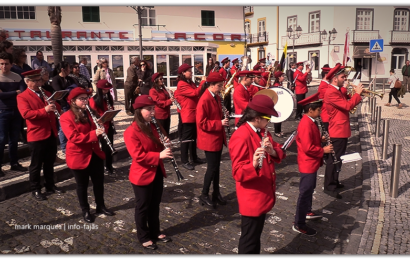 LUSITÂNIA CLUBE RECREIO VELENSE participa na Procissão de Passos – Vila das Velas – Ilha de São Jorge (c/ vídeo)