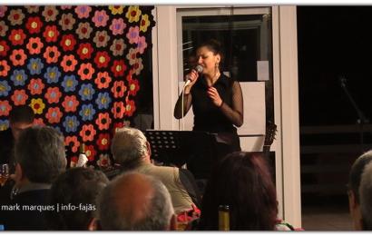 """Fadista LINA MONTEIRO atua no 2º Aniversário do """"RESTAURANTE URZELINA"""" – Ilha de São Jorge (c/ vídeo)"""