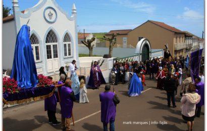PROCISSÃO SENHOR DOS PASSOS (ENCONTRO) – Santo Antão – Ilha de São Jorge (c/ vídeo)