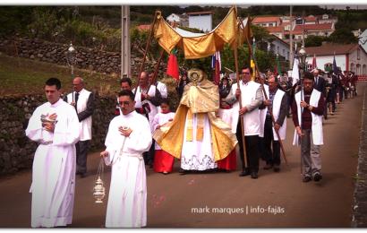 PROCISSÃO DA RESSURREIÇÃO DO SENHOR– Vila do Topo – Ilha de São Jorge (c/ vídeo)