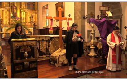 VIA SACRA ENCENADA PELOS ESCUTEIROS DE VELAS – Igreja Matriz de São Jorge (c/ vídeo)