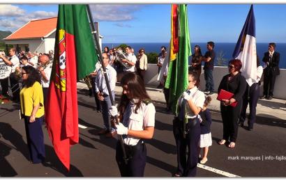 BANDA FILARMÓNICA ESTÍMULO NA FESTA DE SANTO ANTÓNIO – Rua de Baixo / Calheta – Ilha de São Jorge (c/ vídeo)