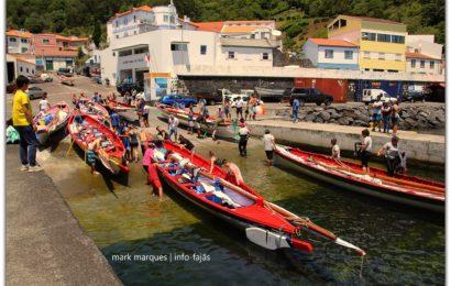FALTA DE VENTO, CONDICIONOU REGATA DE BOTES BALEEIROS (Pico / São Jorge) (c/ vídeo)