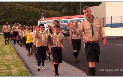 VII ACARAL AÇORIANO de 17 a 21 – Ilha de São Jorge (Açores) – Escutismo (c/ vídeo)