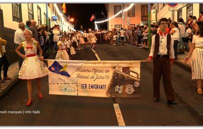 MARCHA OFICIAL DO FESTIVAL DE JULHO / 2019 – Vila da Calheta – Ilha de São Jorge (c/ vídeo)