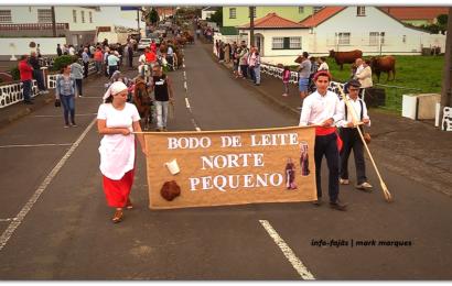 CORTEJO DO BODO DE LEITE – NORTE PEQUENO – Ilha de São Jorge (c/ vídeo)