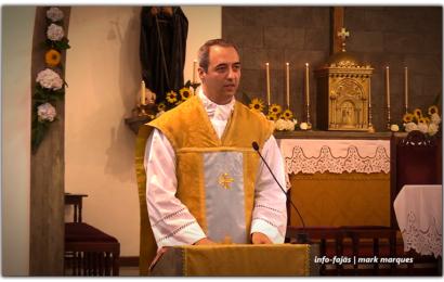 Padre LOURENÇO MACHADO, celebra missa de Ação de Graças – Santo Antão – Ilha de São Jorge (c/ vídeo)