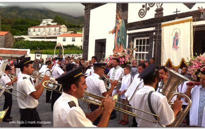 BANDA FILARMÓNICA SAÚDA Nª SRª DAS NEVES – Norte Grande – Ilha de São Jorge (c/ vídeo)
