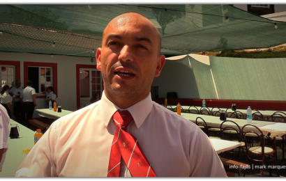 """""""CRIAR OBJETIVOS TRAZ OS JOVENS À BANDA"""" afirma Natalino Brasil, jovem Regente do Clube União – Ilha de São Jorge (c/ vídeo)"""