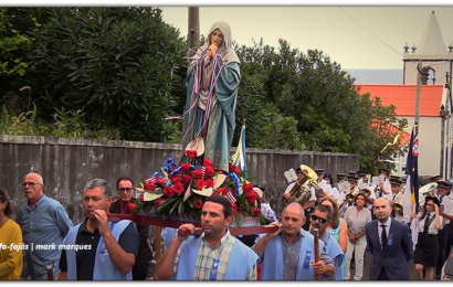 """""""PROCISSÃO"""" – FESTA DE Nª SRª DAS DORES – Fajã do Ouvidor – Ilha de São Jorge (c/ vídeo)"""