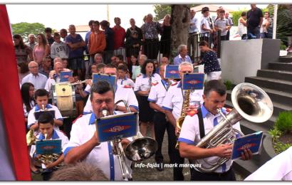 UNIÃO URZELINENSE SAÚDA ERMIDA DE Nª SRª DA ENCARNAÇÃO – Ribeira do Nabo / Urzelina – Ilha de São Jorge (c/ vídeo)
