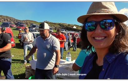 """""""ALMOÇO / CONVÍVIO"""" – Festa da Ferra na Ganadaria AA – Álvaro Amarante – Ilha de São Jorge (c/ vídeo)"""