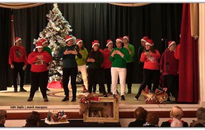 Festa de Natal dos idosos do concelho da Calheta (Momentos) – Ilha de São Jorge (c/ vídeo)