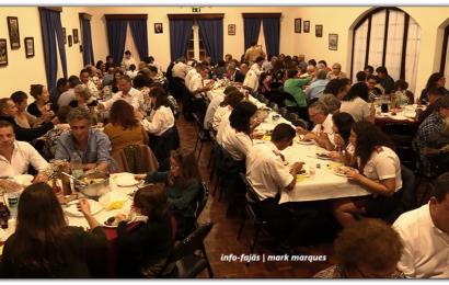 """""""JANTAR CONVÍVIO"""" – Festa de Santa Bárbara – Manadas – Ilha de São Jorge (c/ vídeo)"""