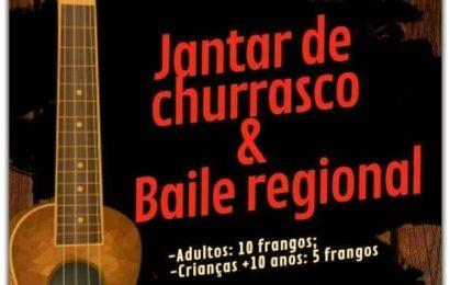 JANTAR DE CHURRASCO / BAILES REGIONAIS – próximo sábado dia 4 em Rosais – Ilha de São Jorge