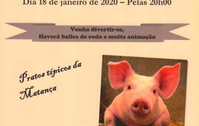 """""""JANTAR DA MATANÇA DE PORCO"""", no próximo sábado dia 18 em Rosais – Ilha de São Jorge"""