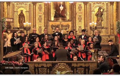 CONCERTO DE ANO NOVO – Coro e Orquestra José Damião de Almeida – Ilha de São Jorge (c/ vídeo)