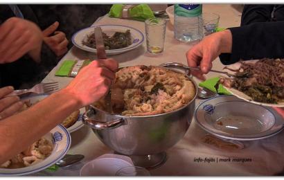 Junta de Freguesia oferece almoço em dia de Santo Antão – Ilha de São Jorge (c/ vídeo)