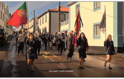 """""""RECREIO DOS LAVRADORES"""", desfila na Festa de Santo Antão – Ilha de São Jorge (c/ vídeo)"""