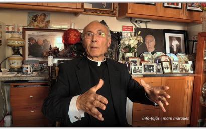 """""""CONVERSAS SOLTAS"""" com o Padre Manuel Garcia da Silveira – Vila das Velas – Ilha de São Jorge (c/ vídeo)"""