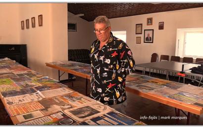 CARTAZES DE FESTAS – Coleção de Alberto Soares – Urzelina – Ilha de São Jorge (c/ vídeo)