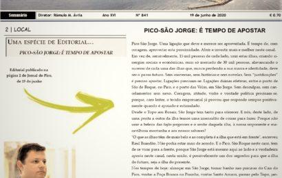 UMA ESPÉCIE DE EDITORIAL……por: Rómulo Medeiros Ávila (Diretor do Jornal do Pico)