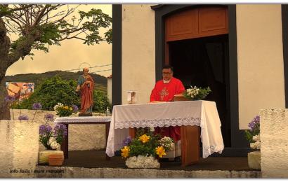 MISSA CAMPAL EM HONRA DE SÃO PEDRO – São Pedro / Velas – Ilha de São Jorge (c/ vídeo)