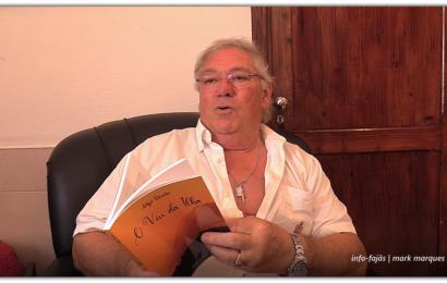 """Professor Jorge Silveira lança livro – """"O VÉU DA ILHA"""" – Ilha de São Jorge (c/ vídeo)"""